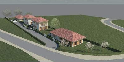 Vue: Terrain à Villard perspective, Terrain à vendre sur la commune de Villard sur Boëge en Vallée Verte