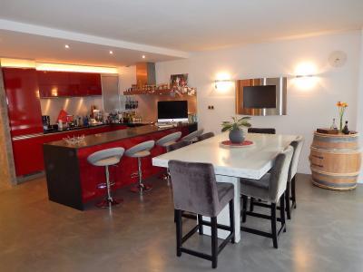 Vue: Appartement T3 Annemasse Salle à manger Cuisine, Grand appartement neuf et contemporain à vendre au centre ville d
