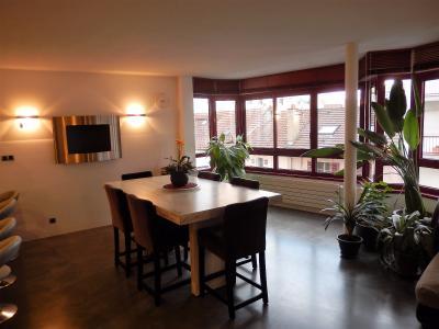 Vue: appartement t3 annemasse Salle à manger, Grand appartement neuf et contemporain à vendre au centre ville d