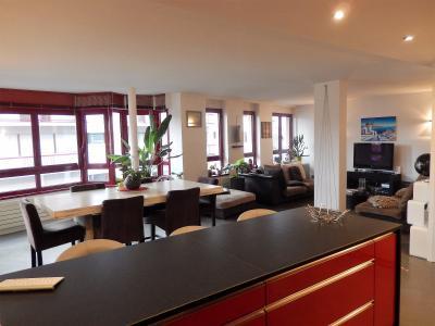 Vue: appartement t3 annemasse Cuisine Salle à manger Salon, Grand appartement neuf et contemporain à vendre au centre ville d