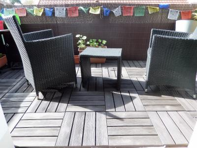 Vue: Appartement T3Bis Annemasse Terrasse, Appartement de Type 3 Bis avec terrasse et jardin à vendre dans une maison à Annemasse