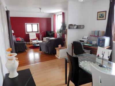 Vue: Appartement T3Bis Annemasse Salon Salle à manger, Appartement de Type 3 Bis avec terrasse et jardin à vendre dans une maison à Annemasse