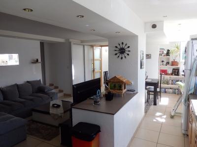Vue: Appartement T3 Lucinges Cuisine Salon Salle à Manger , Appartement T3 à vendre avec Terrasse et Jardin à Lucinges