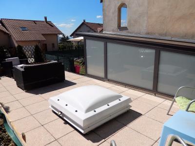 Vue: Appartement T3 Lucinges Salon , Appartement T3 à vendre avec Terrasse et Jardin à Lucinges