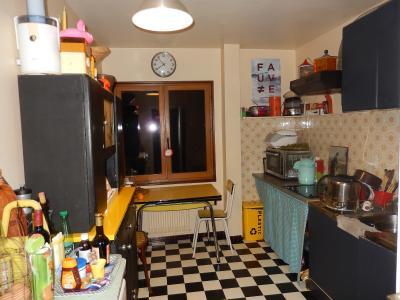 Vue: Appartement T3 Juvigny Cuisine, T3 au dernier étage à vendre dans une ferme à Juvigny