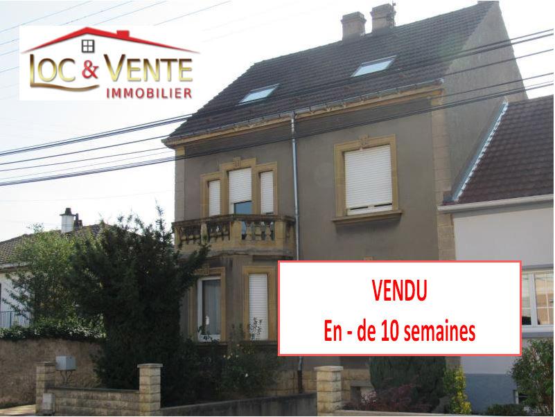 Vente yutz maison 9 pi ces 179 m garage jardin for Achat maison yutz