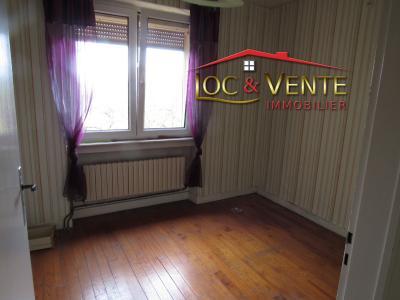 Vue: Chambre 1 (Maison en vente Moyeuvre Grande 57250), Vente MOYEUVRE GRANDE, Maison 4 pi�ces, 2 chambres sur sous-sol complet
