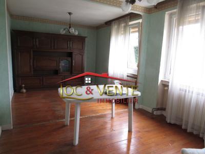 Vue: Chambre 2 (Maison sur 4 ares 26 à Moyeuvre Grande), Vente MOYEUVRE GRANDE, Maison 4 pi�ces, 2 chambres sur sous-sol complet