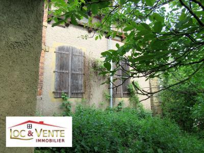 Vue: Jardin + possibilité garage, Vente RICHEMONT, a r�nover belle b�tisse de style 107 m�