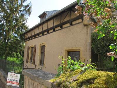 Vue: Belle bâtisse ancienne + jardin, Vente RICHEMONT, a r�nover belle b�tisse de style 107 m�