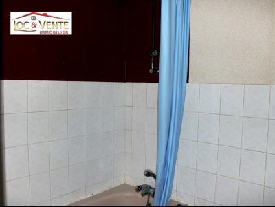 Vue: Salle de bain avec WC, Appartement F1 situ� au Rez-de-Chauss�e (Malancourt)