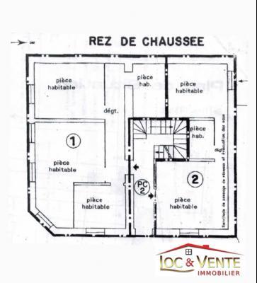 Appartement F1 situ� au Rez-de-Chauss�e (Malancourt)
