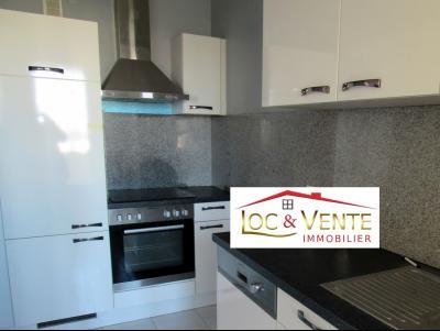 Vue: Cuisine aménagée 6,37m², Vente THIONVILLE, Appartement 58 m� - 2 chambres