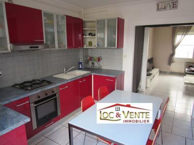 Vue: Cuisine 9.50m² : aménagée équipée, Vente FAMECK, Appartement en rez de jardin - 2 chambres + jardin