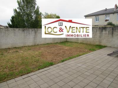 Vue: FAMECK / FLORANGE : Jardin 70m², Vente FAMECK, Appartement en rez de jardin - 2 chambres + jardin