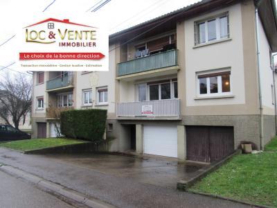 Vue: Location appartement 2 chambres avec balcon, garage et cave, Location GANDRANGE, Appartements 80 m� - 4 pi�ces