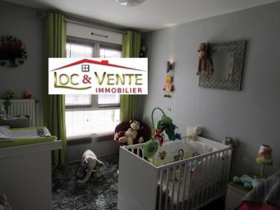Vue: Chambre 3 de 10.63m² avec placard, Vendu ROMBAS, Appartements 3 chambres - 98m2 + Terrasse