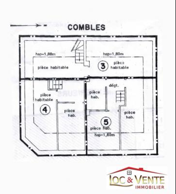 Appartement Duplex de 48,52m� avec parking (Malancourt)