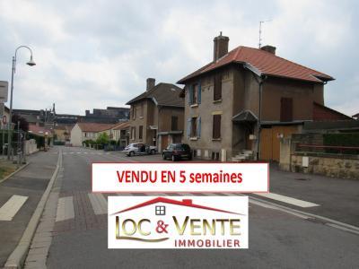 Vue: prix-m²-immobilier-Gandrange-57175.jpg, Vente GANDRANGE, Maison 70 m� - 2 chambres - Terrasse - jardin - garage