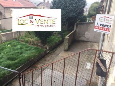 Vue: Maison jumelée avec jardin à Moyeuvre-Grande, Vente MOYEUVRE GRANDE, Maison 73 m� - 3 pi�ces - 2 chambres
