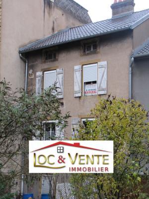 Vue: Moyeuvre-Grande : Maison à Rénover, Vente MOYEUVRE GRANDE, Maison 105 m� - 3 chambres + jardin + grenier am�nageable