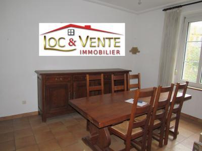 Vue: Salle à manger 14.20m², Vente MOYEUVRE GRANDE, Maison 105 m� - 3 chambres + jardin + grenier am�nageable