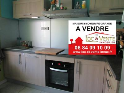 Vente MOYEUVRE GRANDE, Maison 140 m� - 4 chambres