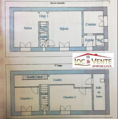 Vue: Croquis maison, Vente ROMBAS, Maison 117 m� - 4 chambres