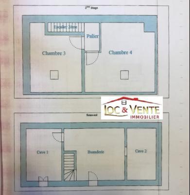 Vue: Croquis maison suite, Vente ROMBAS, Maison 117 m� - 4 chambres