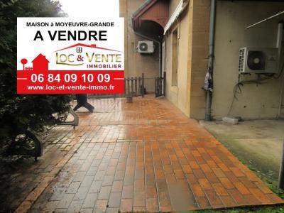 Vente MOYEUVRE GRANDE, Maison 134 m� - 3 chambres + jardin et garage