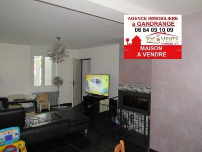 Vente GANDRANGE, spacieuse Maison - 4 chambres - terrasse - jardin - garage