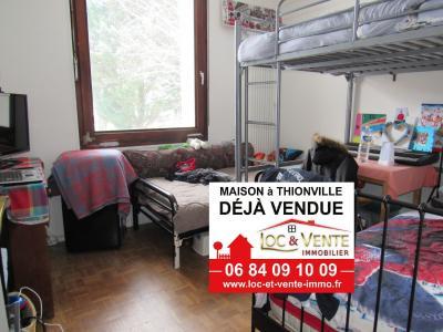 THIONVILLE, Maison individuelle 176 m� - 3 chambres +