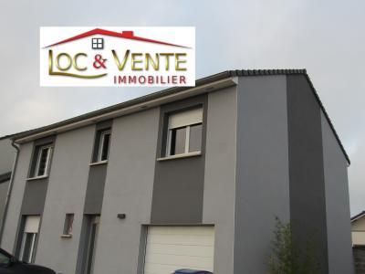 Vue: Maison 136m² - 4 chambres - 1 bureau, Vente VOLSTROFF, Maison individuelle 136 m� - 7 pi�ces