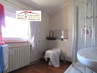 Vue: Salle de bain de 6,95m² , Maison � PIENNES 54490 de 7 pi�ce(s) sur 155 m� env.