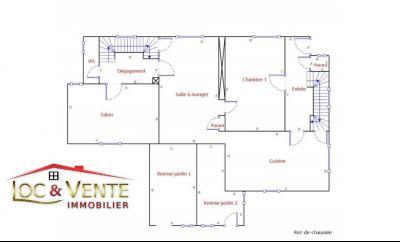 Vue: Croquis maison en vente à Piennes, Maison � PIENNES 54490 de 7 pi�ce(s) sur 155 m� env.