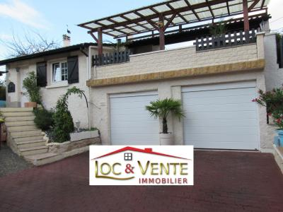 Vue: METZ 57050 : 2 garages, Vente METZ, Maison 170 m� - habitation F6 +1 studio + 1F1