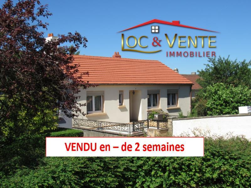 Vente MOYEUVRE GRANDE, Maison 4 pièces, 2 chambres sur sous-sol complet