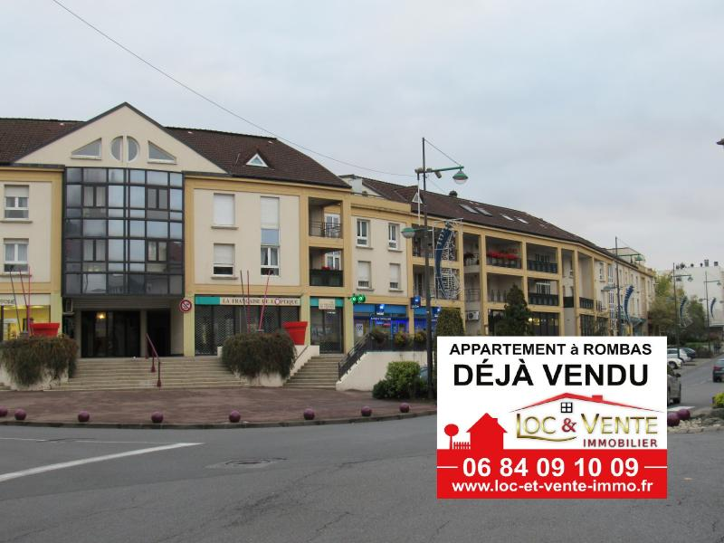 Vente ROMBAS, Appartements 3 chambres - 98m2 + Terrasse