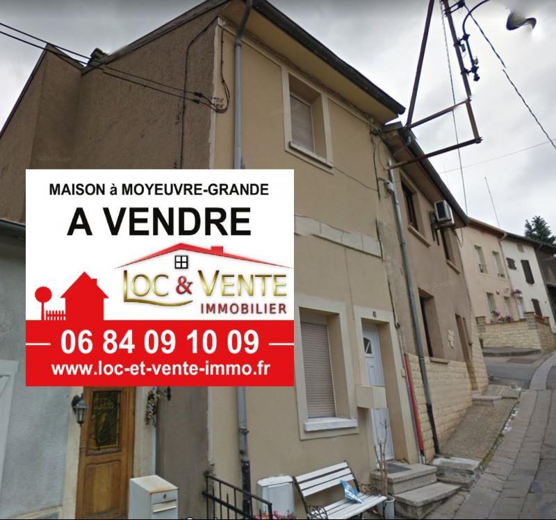 Vente MOYEUVRE GRANDE, Maison 113 m² - 4 pièces
