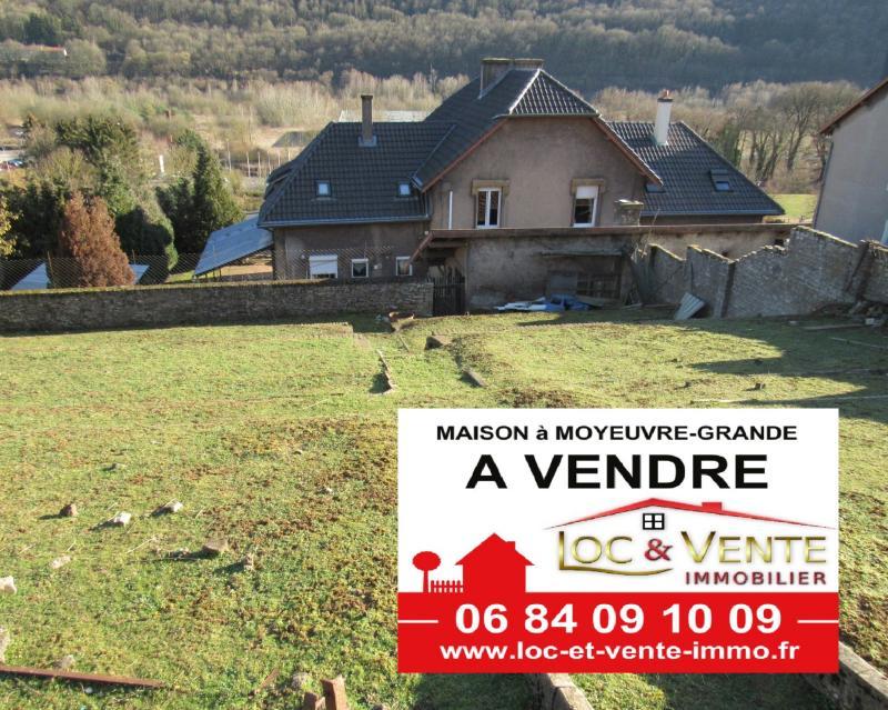 Vente MOYEUVRE GRANDE, Maison 134 m² - 6 pièces - 3 chambres + jardin et garage