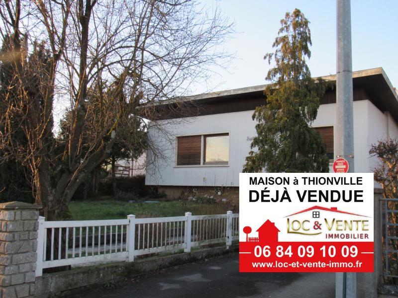 THIONVILLE, Maison individuelle 176 m² - 3 chambres +