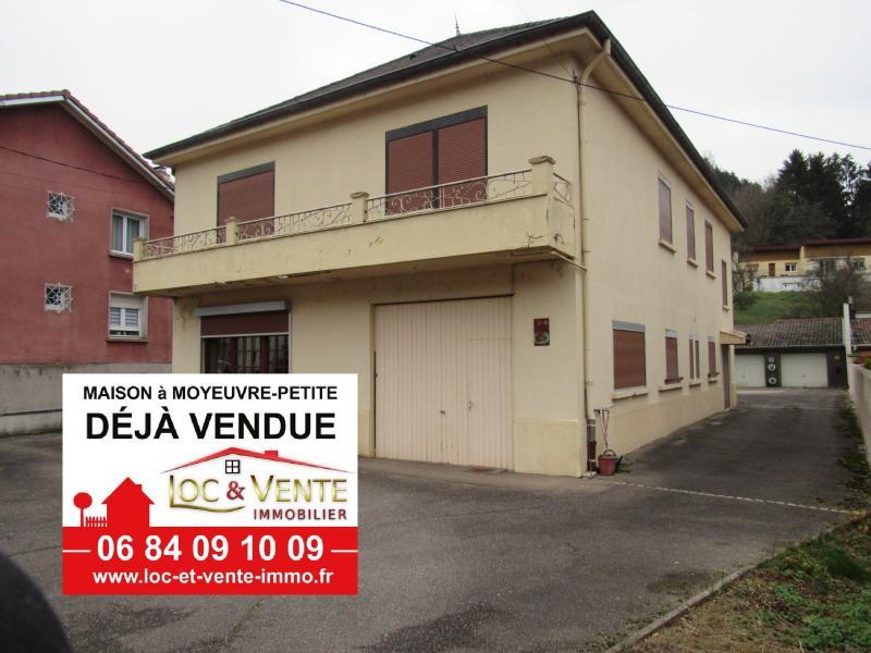 Vente MOYEUVRE PETITE, Maison individuelle 154 m² - 7 pièces
