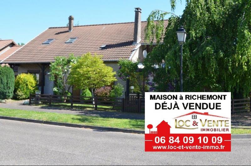 Vente RICHEMONT, Maison individuelle 230 m² - 5 chambres