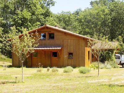 Lot belle maison d'architecte écologique de 135 m² habitables. Salviac