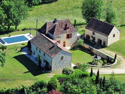 Dordogne, Périgord noir, propriété d'exception de 300 m² habitables sur 3.5 h. Saint Pompon