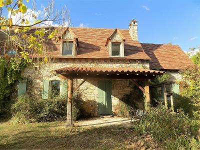 Salviac, Superbe demeure en pierres  avec une tour ronde, piscine et jardin de 7640 m�