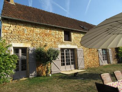 Dordogne, au calme, Maison en pierre restaurée et gîte saint martial de nabirat