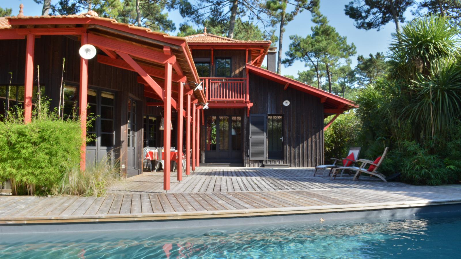 location maison cap ferret avec piscine ventana blog. Black Bedroom Furniture Sets. Home Design Ideas