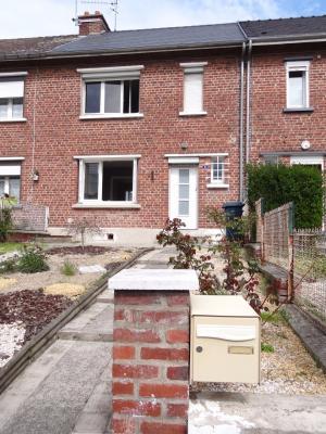 SAINT-SAULVE Maison 3 chambres, jardin, bon secteur