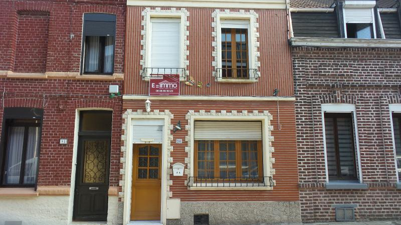 Vente ANZIN Jolie maison 3 chambres, cave, jardin